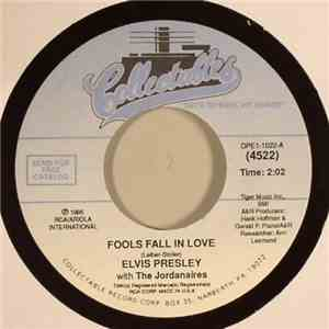 Elvis Presley With Jordanaires, The - Fools Fall In Love