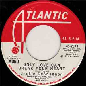 Jackie DeShannon - Only Love Can Break Your Heart mp3 download