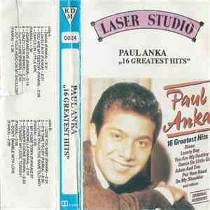 Paul Anka - 16 Greatest Hits mp3 download