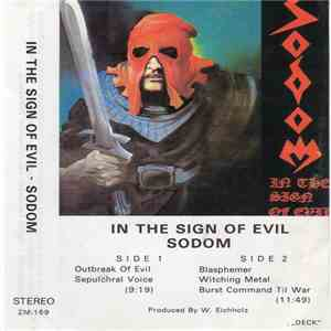 Sodom - In The Sign Of Evil