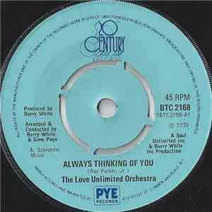 The Love Unlimited Orchestra - Always Thinking Of You