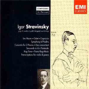 Igor Stravinsky - Plays & Conducts mp3 download