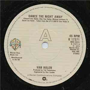 Van Halen - Dance The Night Away