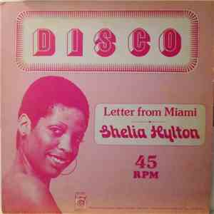 Sheila Hylton / I. Roy - Letter From Miami / Jah Jah Star