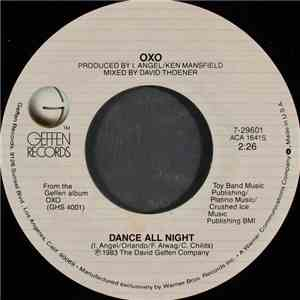 OXO  - Dance All Night
