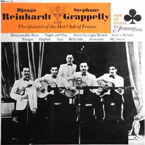 Django Reinhardt - Stephane Grappelly With Quintet Of The Hot Club Of France, The - Django Reinhardt & Stephane Grappelly With The Quintet Of The Hot Club Of France