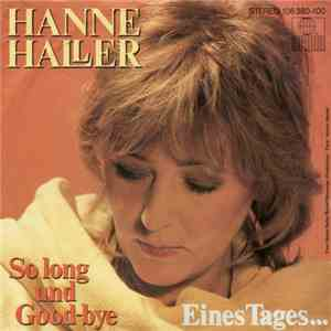 Hanne Haller - So Long Und Good-Bye
